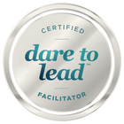 Certified Dare to Lead Facilitator Badge